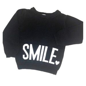 "CARTER'S ""smile"" sweater!!  😊"
